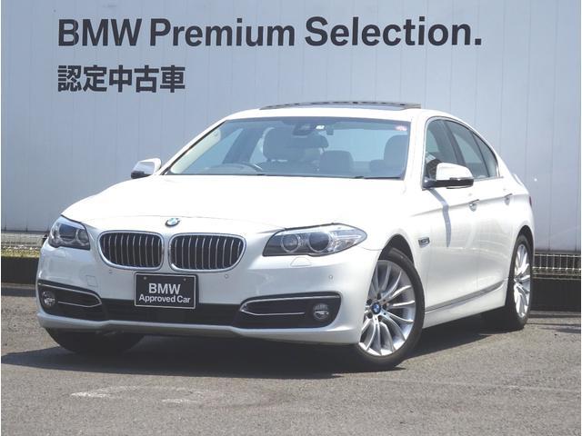 BMW 523iラグジュアリー ベージュレザー ACC サンルーフ