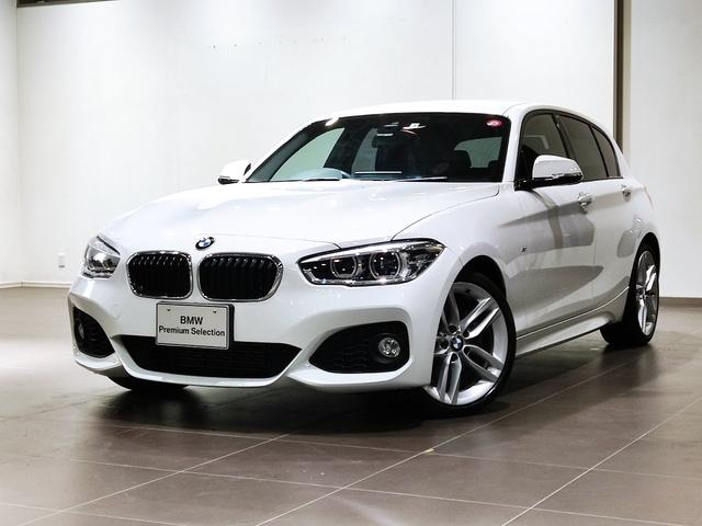 BMW 1シリーズ 118i Mスポーツ オプション18インチホイール LEDライト 衝突被害軽減ブレーキ 車線逸脱警告 フィルム施工済み 純正ナビゲーションシステム