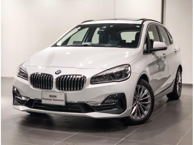 BMW 218d xDriveアクティブツアラーラグジュアリ パノラマサンルーフ ACC ブラックレザー シートヒーター ヘッドアップディスプレー 電動シート オートトランク コンフォートアクセス バックカメラ