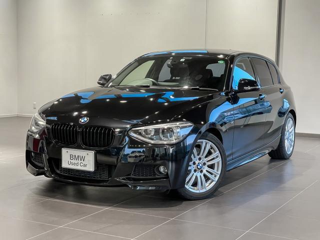 BMW 1シリーズ 116i Mスポーツ バックカメラ リヤセンサー キセノンライト 純正ナビゲーションシステム オートエアコン リヤフィルム3面施工済み 17インチアルミ フロントフォグランプ バックフォグランプ ETC車載器セパレート