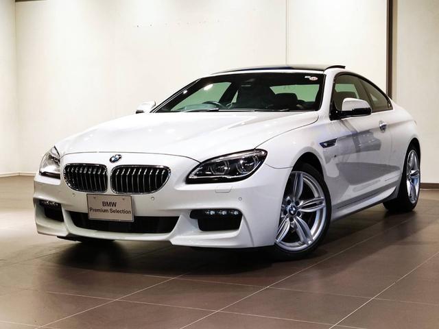 BMW 640iクーペ Mスポーツ サンルーフ ACC ヘッドアップディスプレー シートヒーター パドルシフト アダプティブLEDライト レーンアシスト ETC2.0 バックカメラ 電動シート マルチメーター