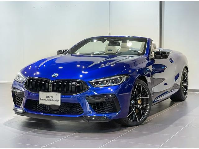 BMW M8カブリオレ コンペティション カーボンセラミックブレーキ アイボリーメリノレザー ナイトビジョン プロテクションフィルムボディー全面施工済み セラミックコーティング レーザーライト コンフォートアクセス バックカメラ
