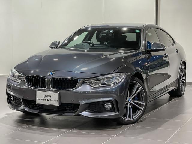 BMW 440iグランクーペ Mスポーツ ブラックレザー アクティブクルーズコントロール ヘッドアップディスプレー ハーマンカードンオーディオシステム シートヒーター オートトランク レーンアシスト サイドカメラ バックカメラ