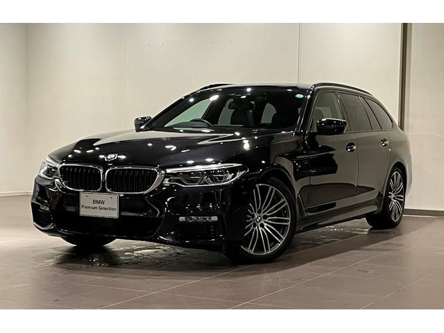 BMW 5シリーズ 523iツーリング Mスポーツ ハイラインパッケージ ブラックレザー イノベーションパッケージ オートトランク アダプティブLEDライト ETC2.0 コンフォートアクセス 電動シート シートヒーター バックカメラ 前後センサー リヤシートヒーター