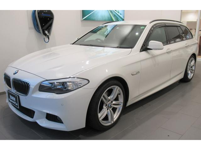 BMW 5シリーズ 523dブルーパフォーマンス ツーリングMスポーツP ハイラインパッケージ ブラックレザー 19インチアルミホイール 電動シート クルーズコントロール
