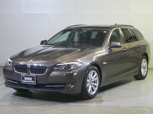 BMW 523dツーリングHiline屋根ACC黒革オートトランク