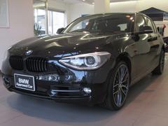 BMW120i スポーツ 認定中古車 MPP19インチアルミ