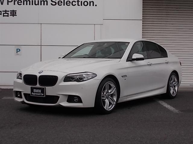 BMW 523d Mスポーツ ザ・ピーク 黒革