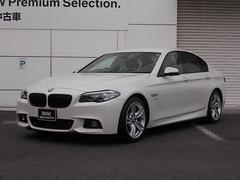 BMW523d Mスポーツ ザ・ピーク 黒革 MPP新品アルミ