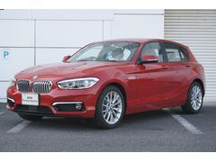 BMW118i ファッショニスタ オフホワイトレザー 全国保証