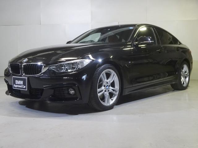 BMW 420iグランクーペ Mスポーツ 赤革 アダプティブヘッド