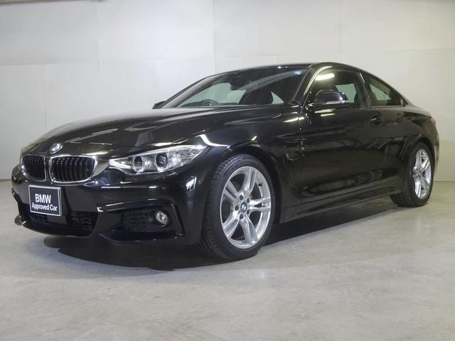 BMW 420iクーペ Mスポーツ 黒革 Fシートヒーター