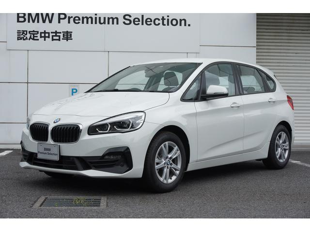 BMW 218dアクティブツアラー 認定中古車 バックカメラ