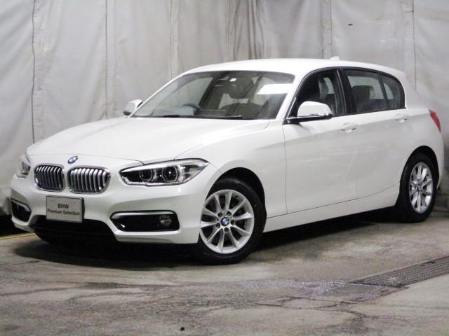 BMW 118dスタイル 音声認識 衝突軽減 自動駐車 全周センサー