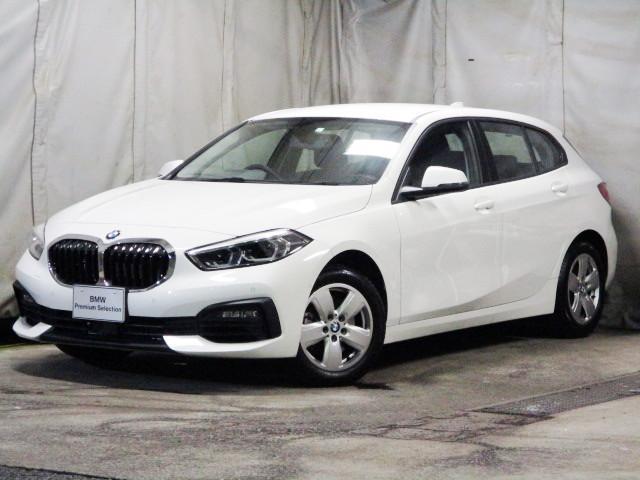 BMW 1シリーズ 118i タッチパネルHDDナビゲーション オートホールドブレーキ 液晶メーター 後退アシスト バックカメラ 後方衝突軽減ブレーキ LEDヘッドライト 16インチホイール BMW正規ディーラー認定中古車