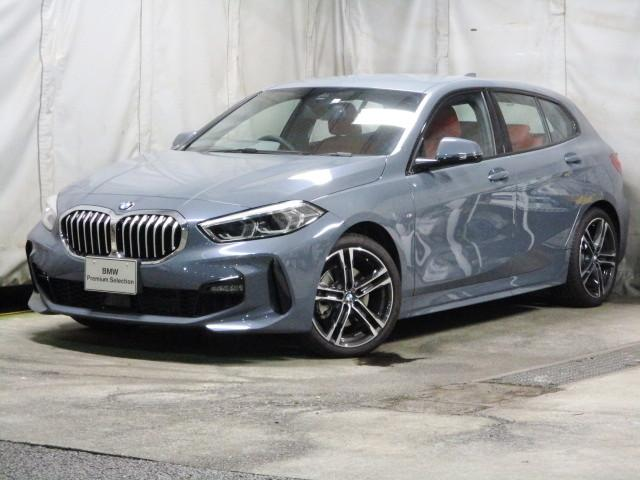 BMW 1シリーズ 118i Mスポーツ マグマレッドレザー シートヒーター タッチパネルHDDナビゲーション スマートキー 衝突軽減ブレーキ レーンアシスト バックカメラ 自動駐車 LEDヘッドライト BMW正規ディーラー認定中古車