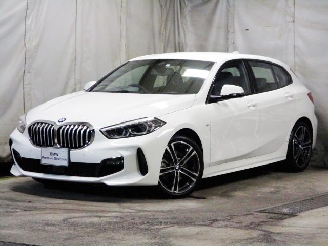 BMW 1シリーズ 118i Mスポーツ タッチパネルHDDナビゲーション 追従機能付クルーズコントロール スマートキー 衝突軽減ブレーキ レーンアシスト バックカメラ 自動駐車 LEDヘッドライト BMW正規ディーラー認定中古車