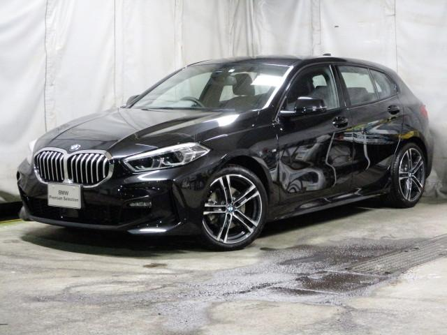118i Mスポーツ オートホールド 18インチ オートマテールゲート ACC タッチパネルHDDナビゲーション スマートキー 衝突軽減ブレーキ  バックカメラ 自動駐車 LEDヘッドライト BMW正規ディーラー認定中古車(1枚目)