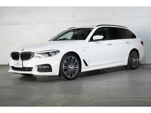 BMW 523dツーリング Mスポーツ ハイラインパッケージ サンルーフ ブラックレザー 19インチ タッチパネルHDDナビゲーション スマートキー 衝突軽減ブレーキ レーンアシスト バックカメラ 自動駐車 LEDヘッドライト BMW正規ディーラー認定中古車