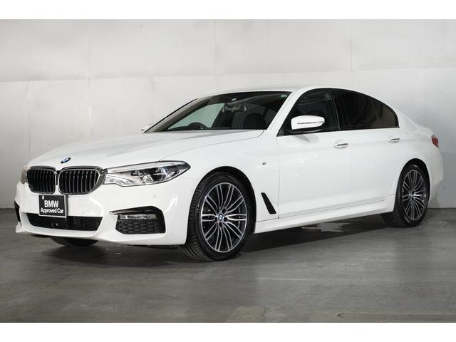 BMW 523i Mスポーツ ヘッドアップディスプレイ 追従機能付クルーズコントロール タッチパネルHDDナビゲーション スマートキー 衝突軽減 バックカメラ コーナーセンサー LEDヘッドライト BMW正規ディーラー認定中古車
