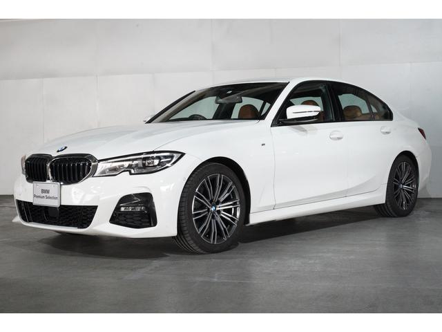 BMW 320i Mスポーツ ヘッドアップディスプレイ 追従機能付クルーズコントロール コニャックレザーシート HDDナビゲーション スマートキー 衝突軽減ブレーキ 全方位カメラ LEDヘッドライト BMW正規ディーラー認定中古車