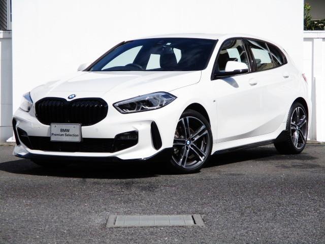 118i Mスポーツ Mperformanceフロントリップスポイラー、サイドスカート タッチパネルHDDナビゲーション スマートキー 衝突軽減ブレーキ バックカメラ LEDヘッドライト BMW正規ディーラー認定中古車