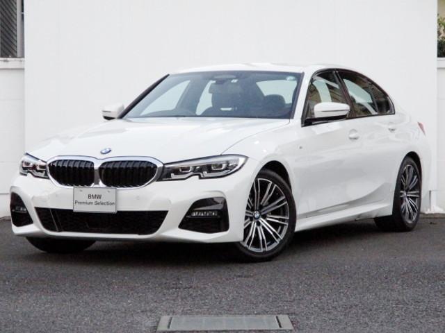 BMW 320i Mスポーツ ヘッドアップディスプレイ 追従機能付クルーズコントロール HDDナビゲーション スマートキー 衝突軽減ブレーキ 後退アシスト バックカメラ LEDヘッドライト BMW正規ディーラー認定中古車