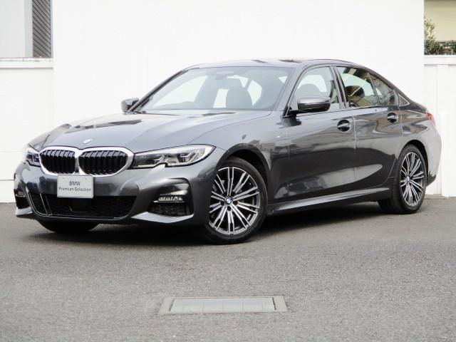 BMW 3シリーズ 320d xDrive Mスポーツ タッチパネルHDDナビゲーション シートヒーター ヘッドアップディスプレイ 追従機能 スマートキー 衝突軽減ブレーキ レーンアシスト 全方位カメラ LEDヘッドライト BMW正規ディーラー認定中古車
