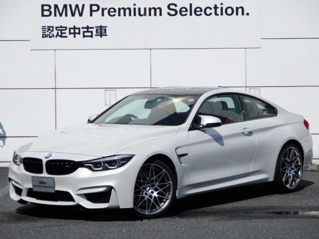 BMW M4クーペ コンペティション 20インチ 赤レザー コンペティション専用シート シートヒーター HDDナビゲーション スマートキー レーンアシスト バックカメラ LEDヘッドライト BMW正規ディーラー認定中古車