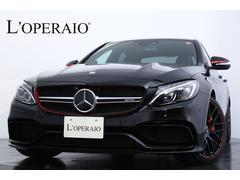 メルセデスAMGC63 S エディション1  限定350台 1オーナ 右ハン
