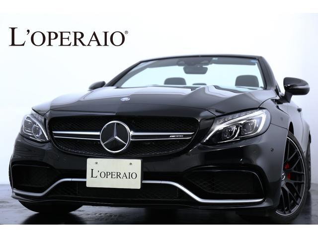 メルセデスAMG C63 Sカブリオレ ワンオーナー 新車保証継承