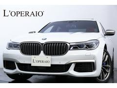 BMWM760Li xDrive リモートパーキング リアエンタメ