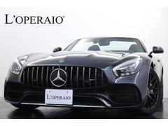メルセデスAMG GTロードスター AMGパフォーマンスシートPKG 1オーナー