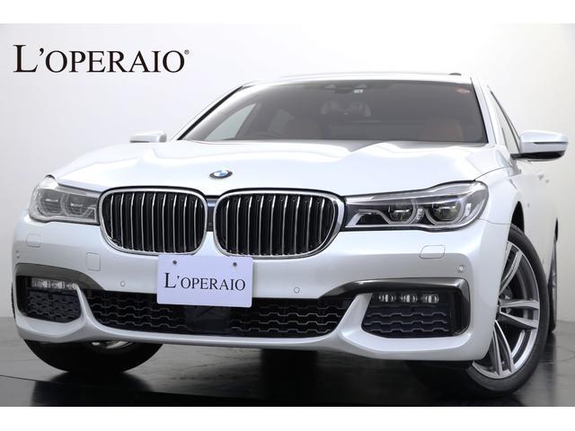 BMW 740Li Mスポーツ リアエンターシステム パノラマSR