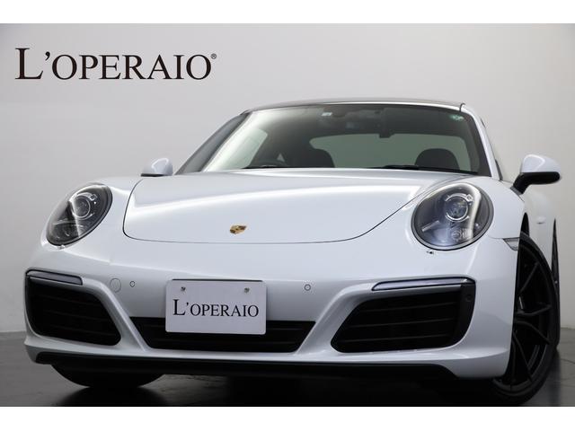 ポルシェ 911 911カレラ スポーツクロノPKG 電動ガラスサンルーフ スポーツシートプラス  有償カラー ブラックインナーキセノンヘッドライト