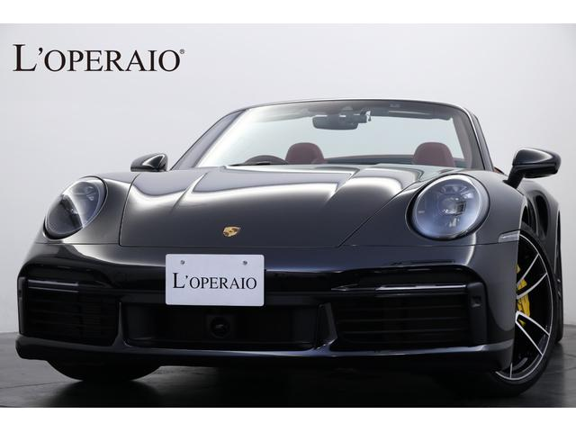 ポルシェ 911 911ターボS カブリオレ ワンオーナー総額220万円 Sport‐ChronoPKG PCCB スポーツエギゾースト フロントアクスルリフト