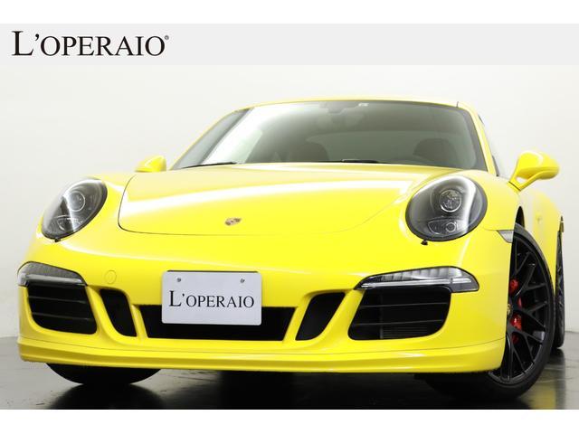 ポルシェ 911 911カレラGTS スポーツクロノPKG 純正20インチアルミ スポーツデザインPKG スポエキ スポーツシートプラス シートヒーター アルカンターラステアリング BOSE 純正SDナビ 地デジ バックカメラ