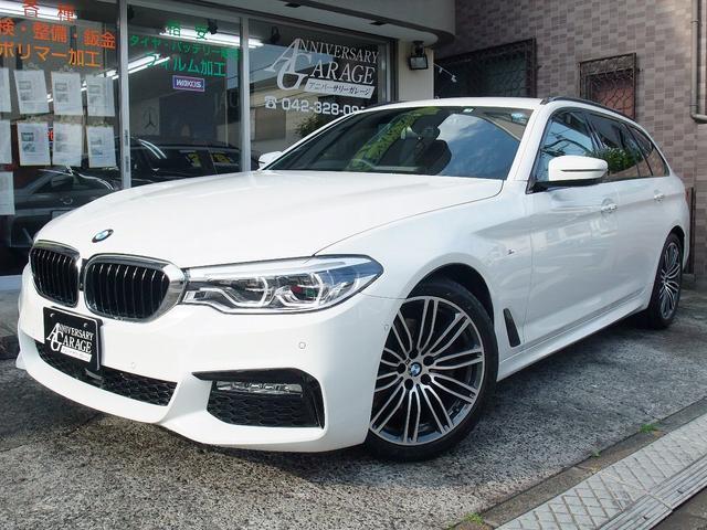 BMW 523dツーリング Mスポーツ 1オーナー 純ナビ ACC