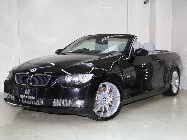 BMW 335iカブリオレMスポ18AW本革禁煙1オーナ記録簿13枚