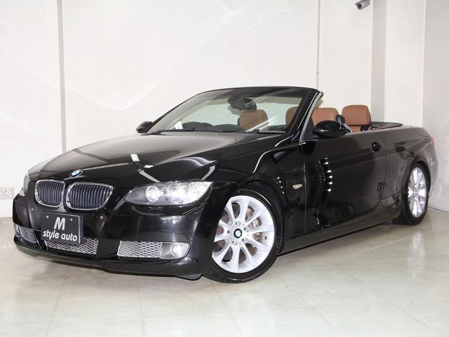 BMW 335iカブリオレ ブラウン本革シート HDDナビ 記録簿