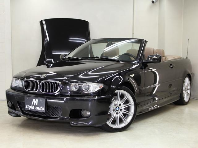 BMW 330Ciカブリオーレ Mスポーツパッケージ 左Hベージュ革