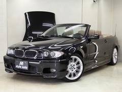 BMW330Ciカブリオーレ Mスポーツパッケージ左 ベージュ本革
