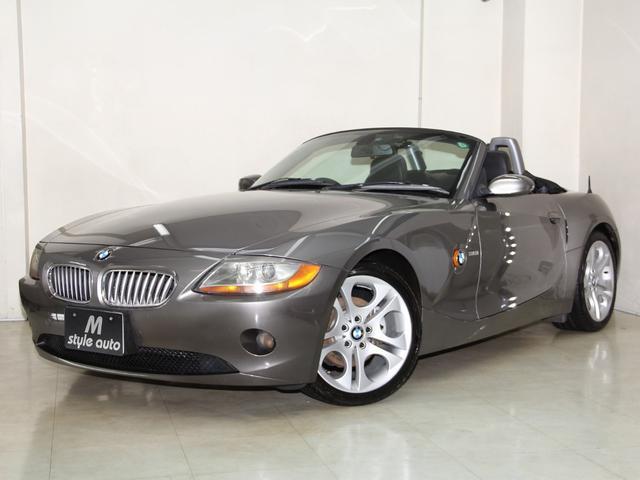 BMW 3.0i 下取り車 黒本革シートヒータ ナビ 電動オープン
