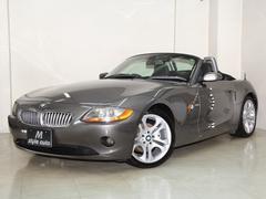 BMW Z43.0i 下取り車 黒本革シートヒータ ナビ 電動オープン