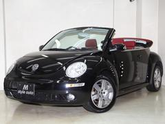 VW ニュービートルカブリオレヴィンテージ 最終特別限定仕様車 赤革/赤幌 禁煙 電動OP