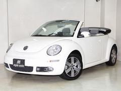 VW ニュービートルカブリオレLZ 後期モデル 本革シート 電動OP マフラー 禁煙記録簿