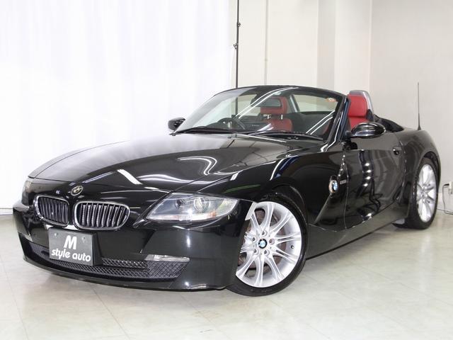 BMW Z4 ロードスター2.5i 後期モデル/ホワイトウインカー/LEDテールランプ/ワイン本革シートヒーター/ナビ/DVDビデオ/HIDキセノンライト/電動オープン/記録簿