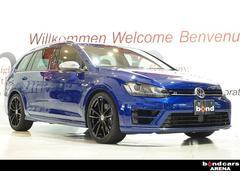 VW ゴルフRヴァリアントローンチエディション ワンオーナー 純正ナビ レーンキープ