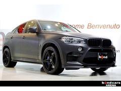 BMW X6 Mマットブラックラッピング BANG&OLUFSEN