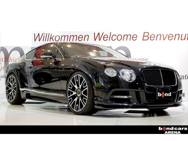ベントレー GT V8 マンソリー22インチ マンソリーカーボンエアロ